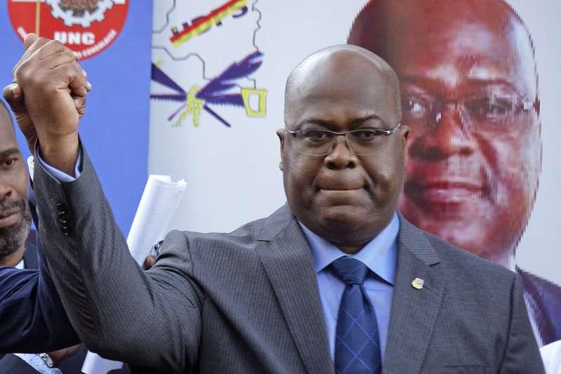 剛果民主共和國總統大選出爐:在野的齊塞凱迪當選新總統(AP)