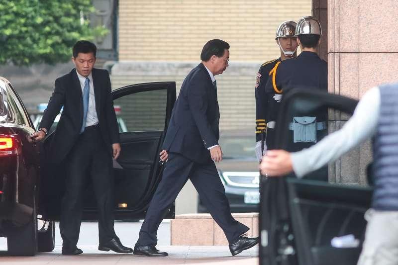 20190111-外交部長吳釗燮11日出席臨時行政院會。(顏麟宇攝)