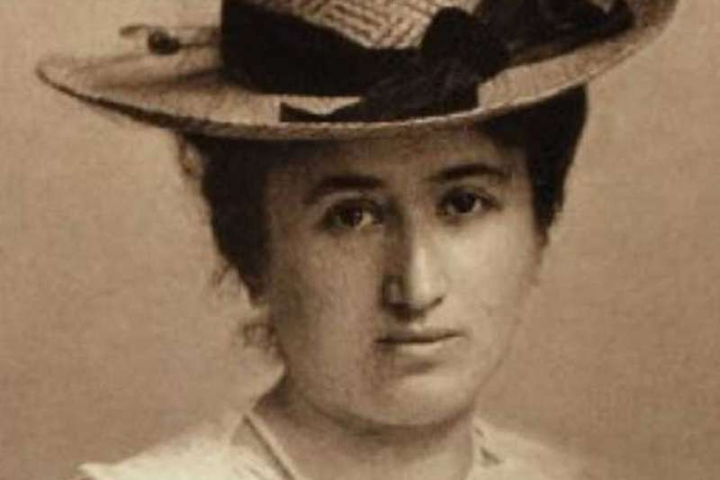 羅莎‧盧森堡(Rosa Luxemburg)(wikipedia/public domain)