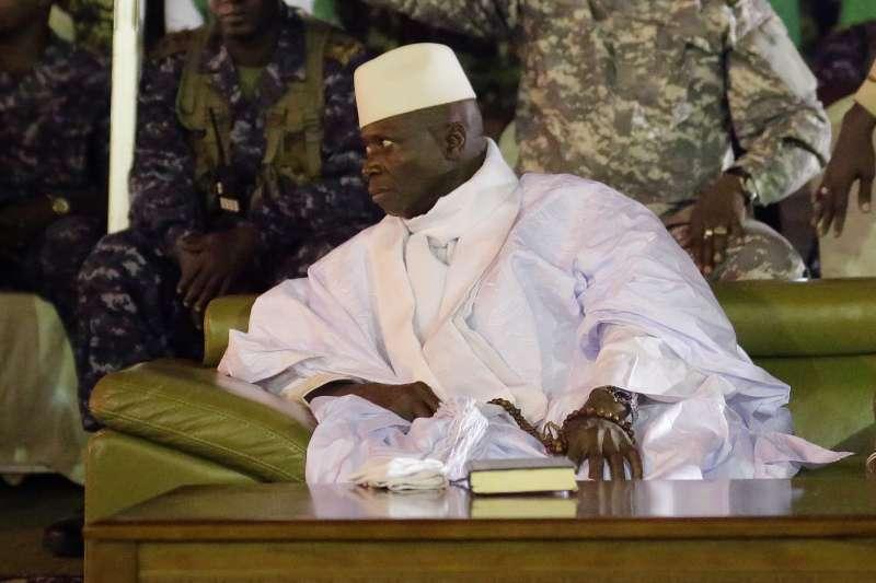 惡名昭彰的甘比亞前總統賈梅(Yahya Jammeh)(AP)