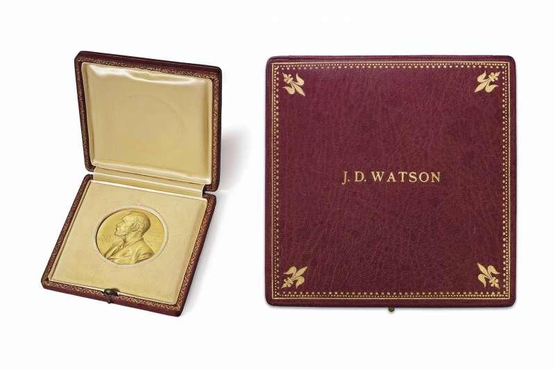 華生的諾貝爾獎牌被擺上佳士得拍賣網站。
