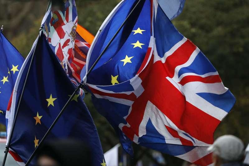 2019年1月,英國脫歐進入關鍵時刻(AP)