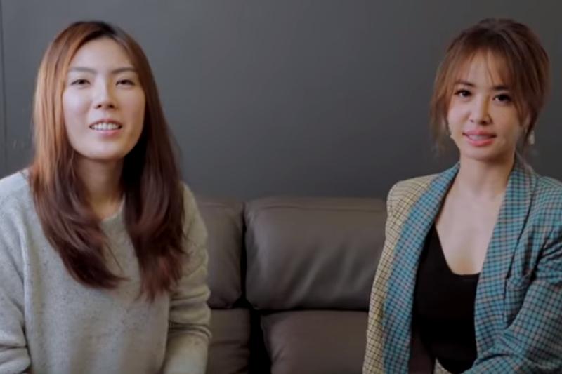 知識型YouTuber理科太太(左)曾分享自己白手起家的故事,有網友挖出過去的報導,發現其實她為化妝品公司的千金,對其有背景卻裝成創業家的行徑十分不解。(截圖自Youtube影片)