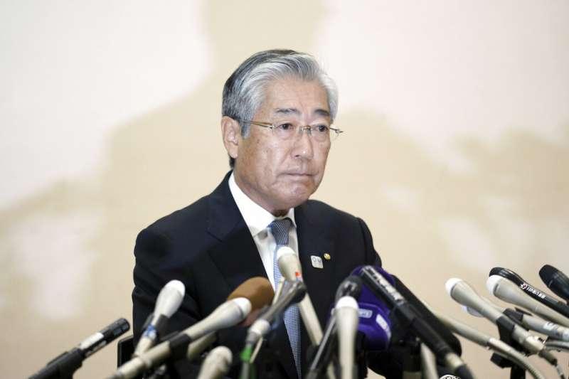 2019年1月15日,日本申奧行賄風波:日本奧委會主席竹田恆和。(AP)