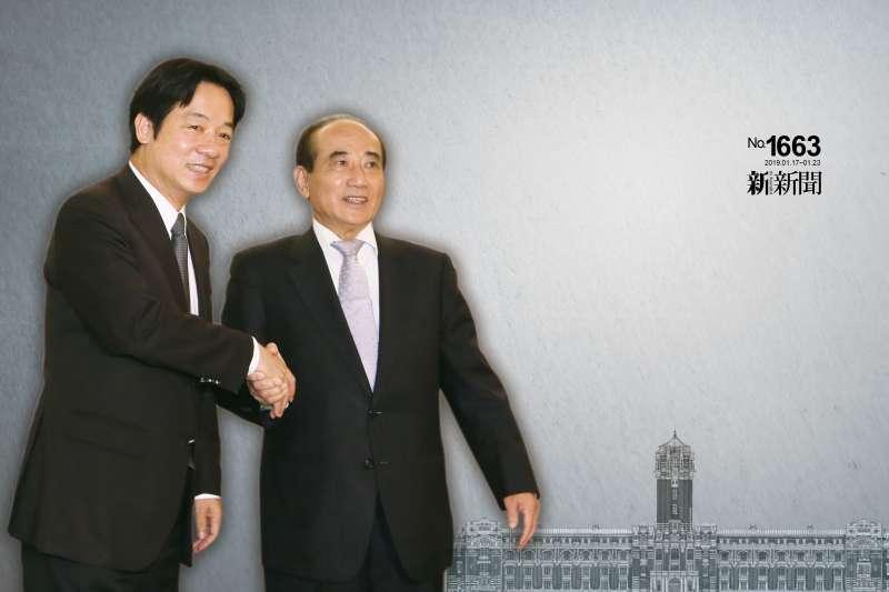 王金平與賴清德的下一站   總統府?