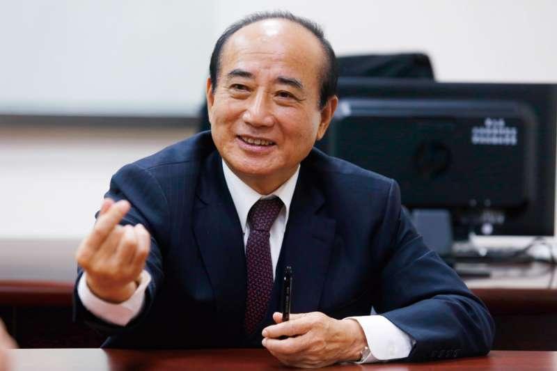 王金平說如參選會找韓國瑜幫忙。(資料照片,郭晉瑋攝)