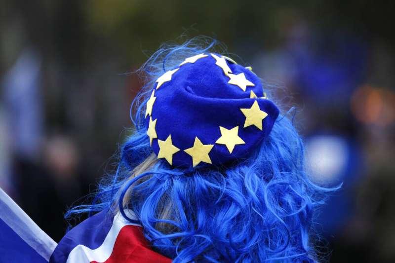 英國脫歐進入最終階段,3月14日將上演正反雙方角力的最高潮。(美聯社)