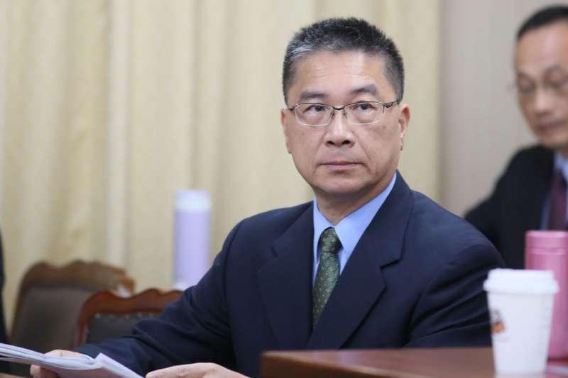 內政部長徐國勇喊廢除《調度司法警察條例》引發警界迴響。(柯承惠攝)
