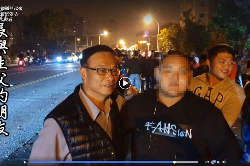 台南市虐童案,引發不少民眾公憤,群舉地檢署。對此,台南市警察局長黃宗仁除在17日在臉書上解釋事發經過外,也分享暖心故事。(阿仁局長室FB)