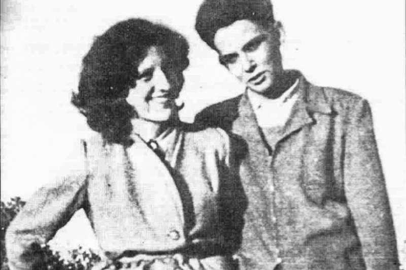 阿爾及利亞戰爭期間遭法軍抓走的法國數學家莫希斯(右)與妻子約瑟特(翻攝維基百科)