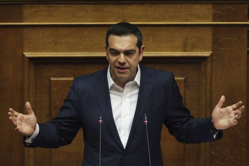 希臘總理齊普拉斯(美聯社)