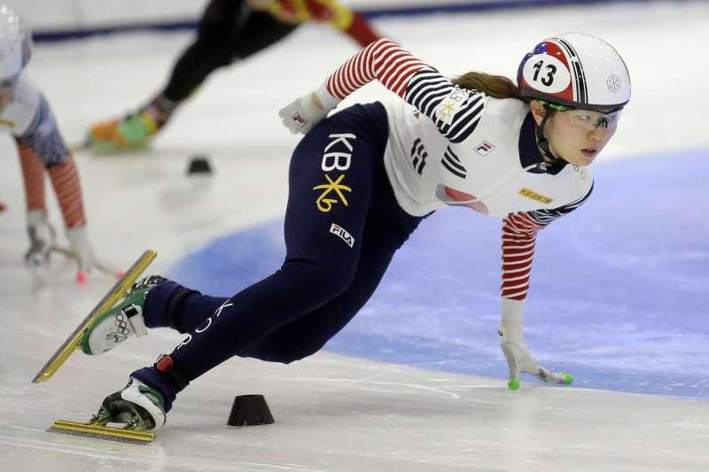 南韓體壇爆發「#MeToo」運動,21歲滑冰選手沈錫希指控長期遭教練性侵。(AP)