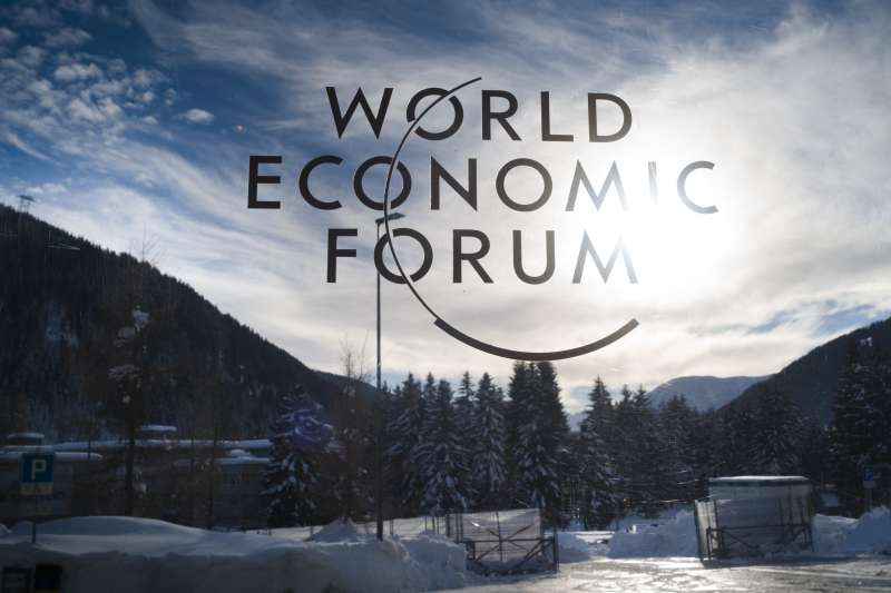 2019年世界經濟論壇(WEF)瑞士達沃斯(Davos)年會(AP)
