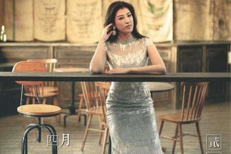 有神力女超人稱號的藍營立委許淑華,近期在臉書PO自己近期拍攝的月曆照,不少網友因她的逆天長腿大讚女神。(取自許淑華臉書粉絲專頁)