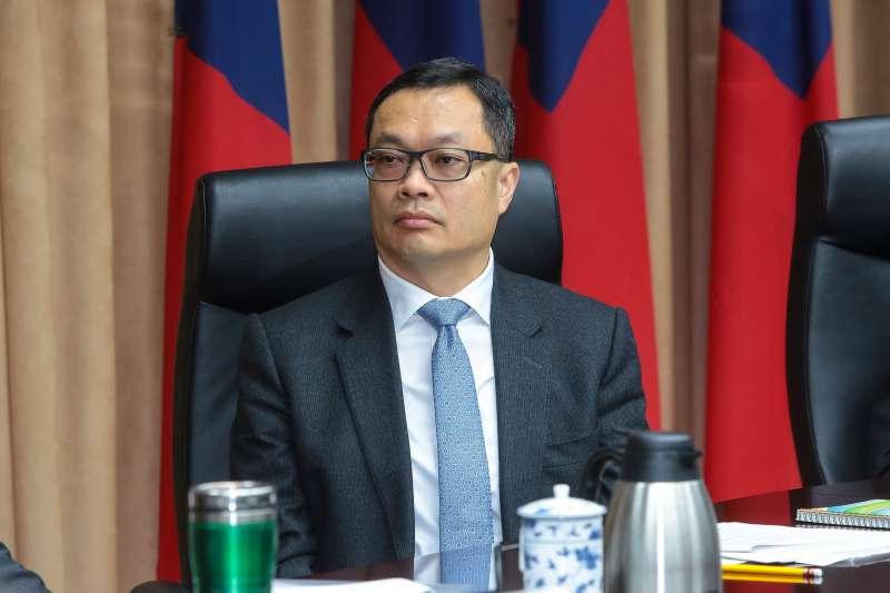 20190122-陸委會副主委陳明祺22日出席新春記者會。(顏麟宇攝)