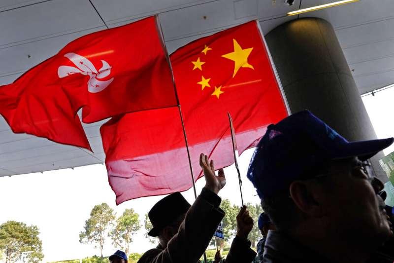 香港新聞自由度下滑,主因是中國干預。(AP)