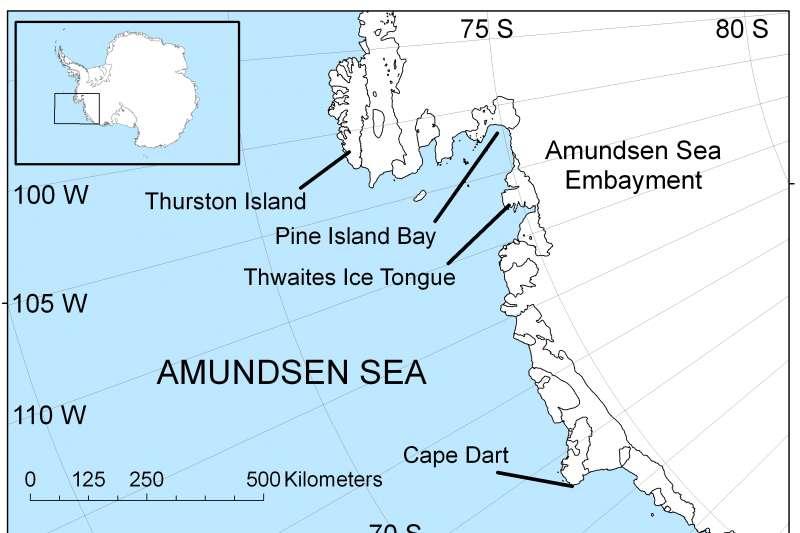 南極阿蒙森海(Amundsen Sea)(Wikipedia / Public Domain)