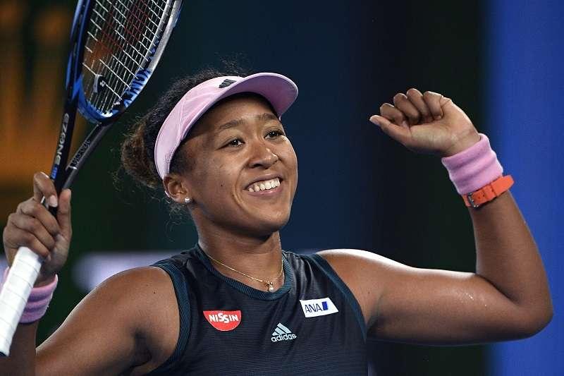 大坂直美成為第一個闖進澳網女單冠軍戰的日本選手。 (美聯社)