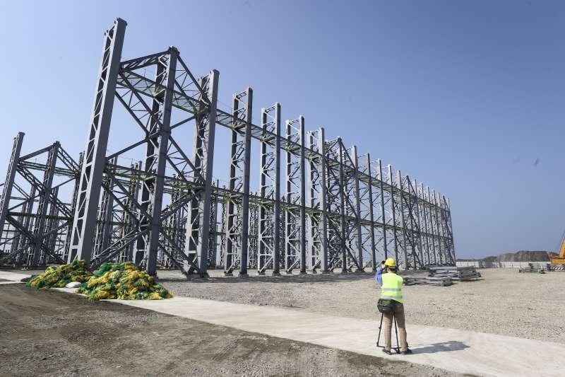 20190125-離岸風電水下基礎建設本土供應商聯合記者會。(陳品佑攝)