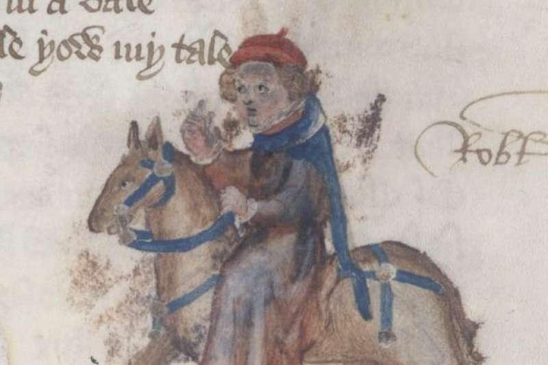 《坎特伯里故事集》(The Canterbury Tales)的〈女尼的教士的故事〉(Nun's Priest's Tale)(Wikipedia / Public Domain)