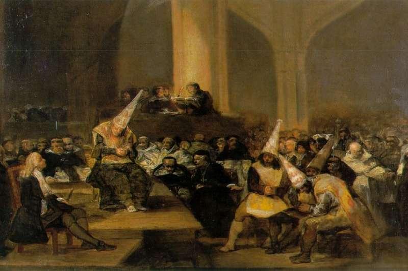 西班牙「宗教裁判所」(Wikipedia / Public Domain)