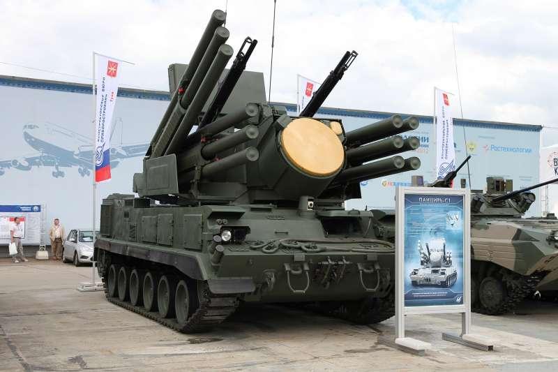 Pantsir-S1防空系統。(Vitaly V. Kuzmin@Wikipedia/CC BY-SA 4.0)