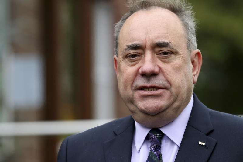 前蘇格蘭首席部長薩蒙德(Alex Salmond)(AP)