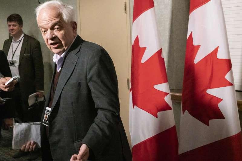 加拿大駐中國大使麥家廉禍從口出,不當評論孟晚舟案遭拔官(AP)