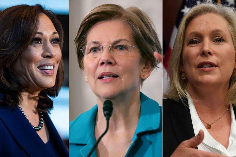 2020年,美國女性再次挑戰總統大位(BBC中文網)