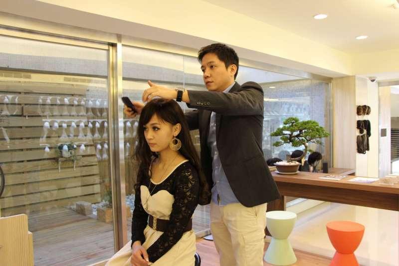 全台 18 間門市提供假髮選擇、修剪的一站式服務(圖/C.Y.S. 假髮接髮)