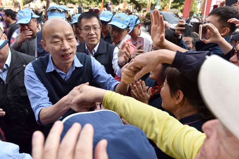 哈佛大學費正清中國研究中心主任宋怡明證實,邀請高雄市長韓國瑜赴美演講。(資料照,高雄市政府提供)