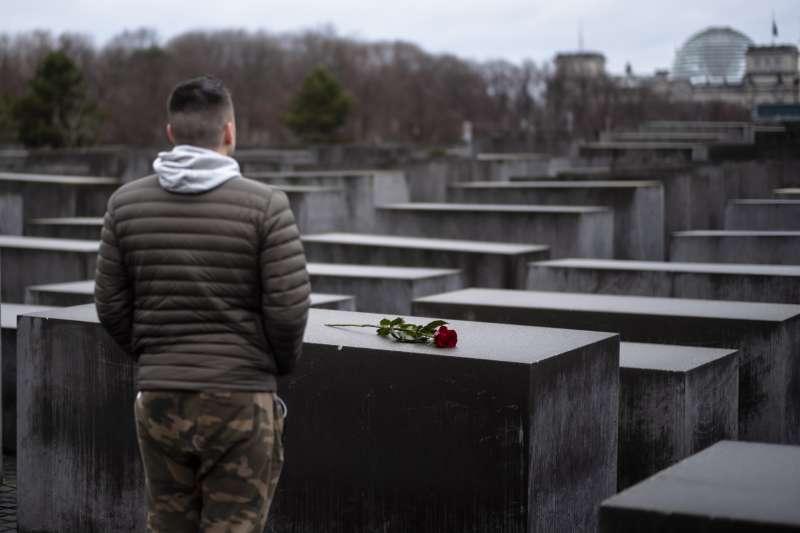 2019年1月27日,國際大屠殺紀念日,奧斯威辛集中營解放74周年紀念日,柏林大屠殺紀念堂(AP)
