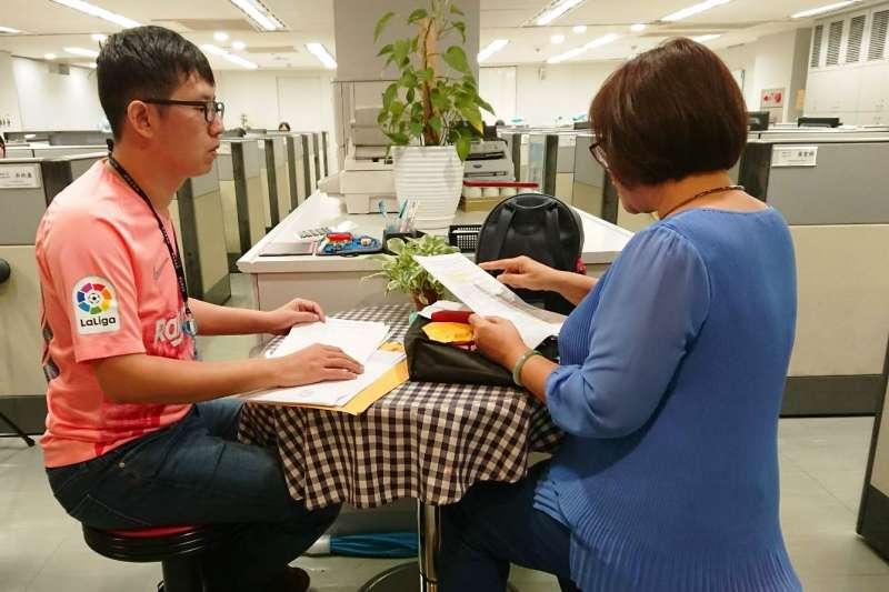 新北市勞工局表示,有任何舊制退休金的相關疑義問題,同仁都會協助處理。(圖/新北市勞工局提供)