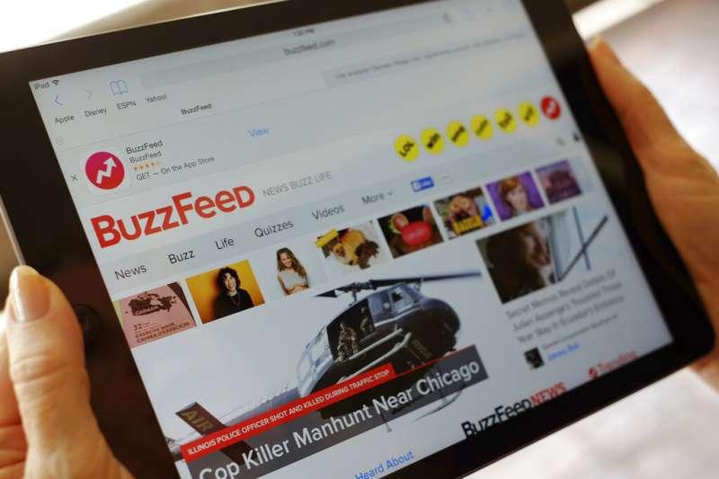 BuzzFeed 再度裁撤美國以外據點。(美聯社)
