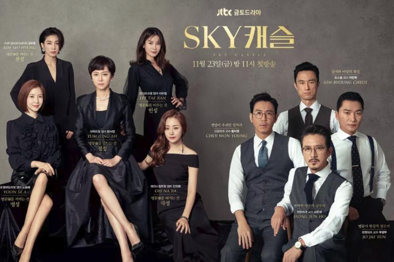 原來韓劇《Sky Castle》演的都是真的!造假哈佛學歷、升學協調員...韓國上流社會存在各種教育問題,扭曲了小孩的價值觀。(圖/JTBC官網)