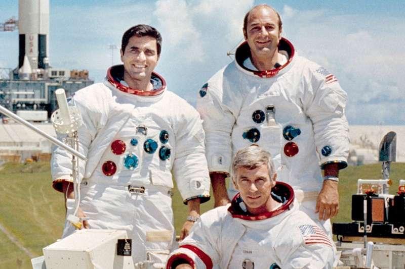 阿波羅17號(圖/維基百科)