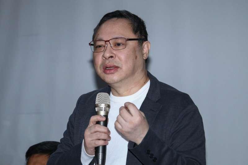20190129-香港占中三子戴耀廷出席「雨傘運動與東亞民主展望論壇」。(蔡親傑攝)
