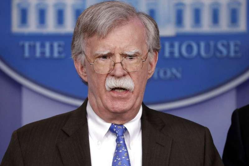 白宮國家安全顧問波頓。(美聯社)