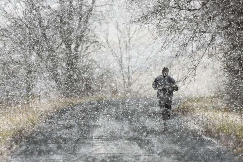 2019年1月29日,美國低溫、維吉尼亞州成冰封世界。(AP)
