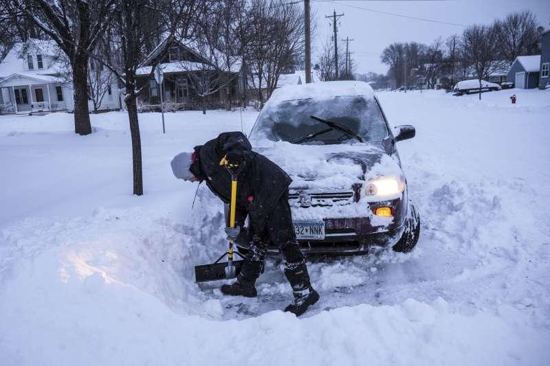 美國本周遭極地渦旋橫掃,面臨極端低溫(AP)