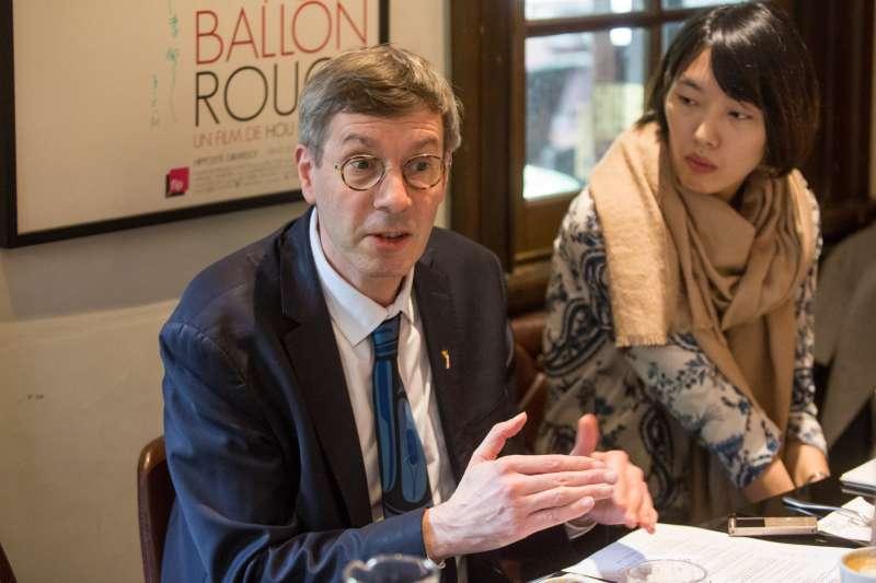 20190131-法國人權大使克羅凱特(Francois Croquette)。(顏麟宇攝)