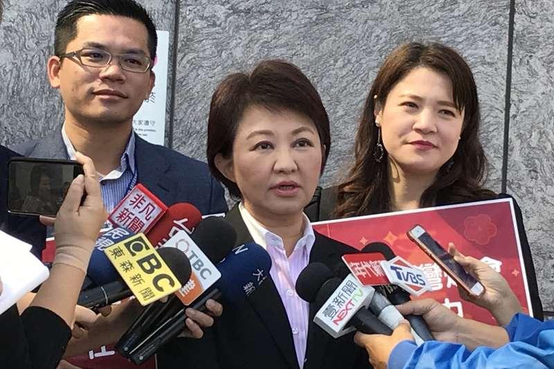 台中市長盧秀燕表示,已要求除役用了30年的中火4號機組,但中央卻以拖待變,她強調市府過完年會積極處理。(資料照,台中市政府提供)