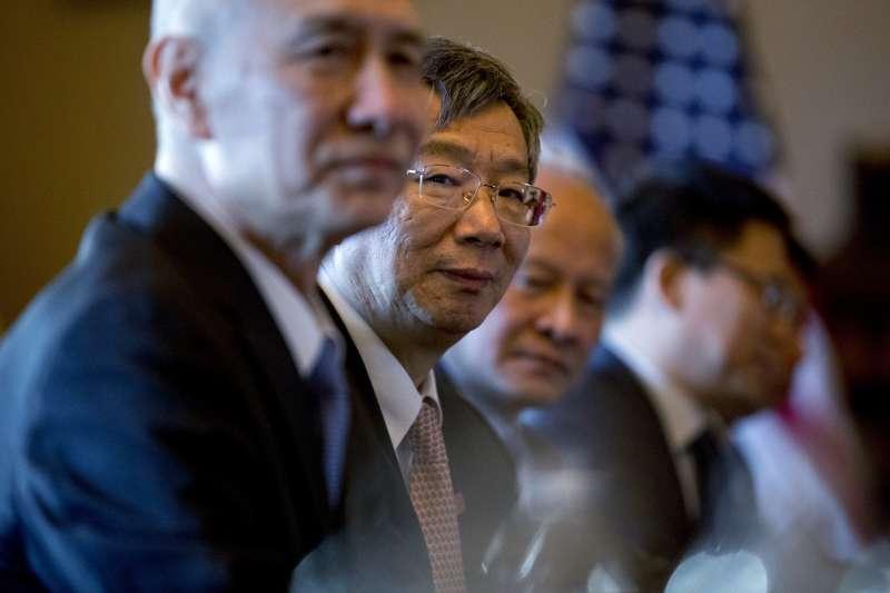 2019年1月30日,由中國國務院副總理劉鶴率領的代表團抵達華府,與美方展開談判(AP)