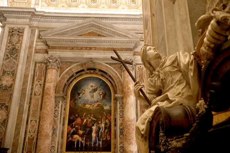 通過這種「智慧」燈光達到了欣賞聖殿藝術之美的效果(曾廣儀攝)