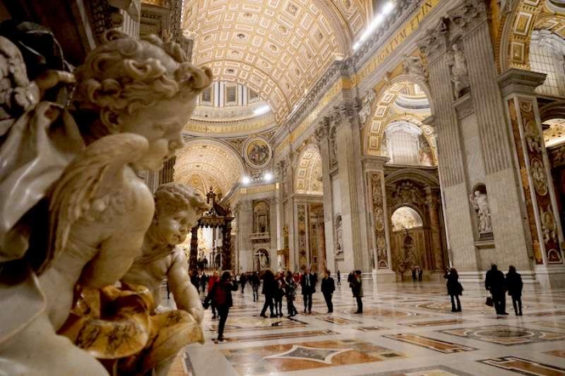 一個把羅馬和天主教緊密連接的宗教精神所在地(曾廣儀攝)