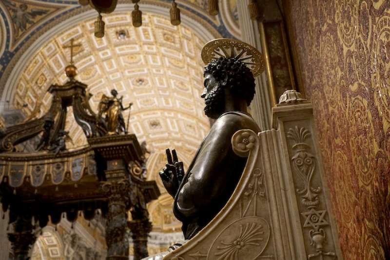 耶穌在人間的繼承人:彼得/伯多祿(曾廣儀攝)