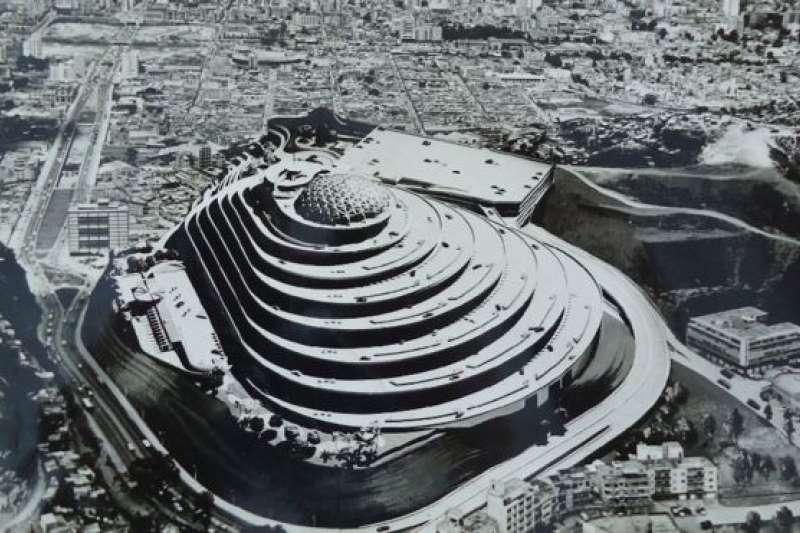 「螺旋大廈」(El Helicoide)最初是作為石油大國委內瑞拉繁榮昌盛和宏偉發展目標的標誌而設計建造的。(BBC中文網)