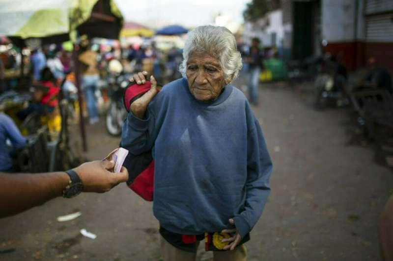 委內瑞拉民不聊生。(AP)