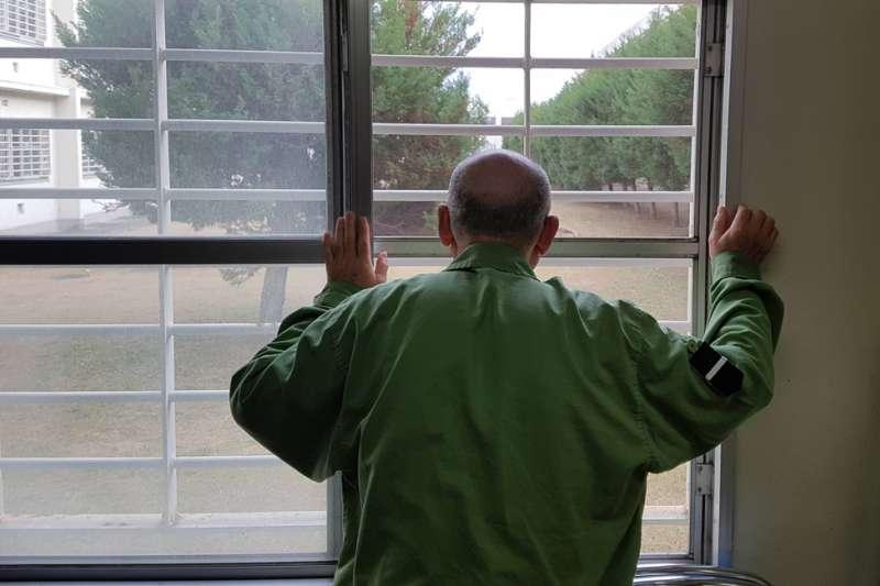 日本監獄中的老年犯人(BBC中文網)