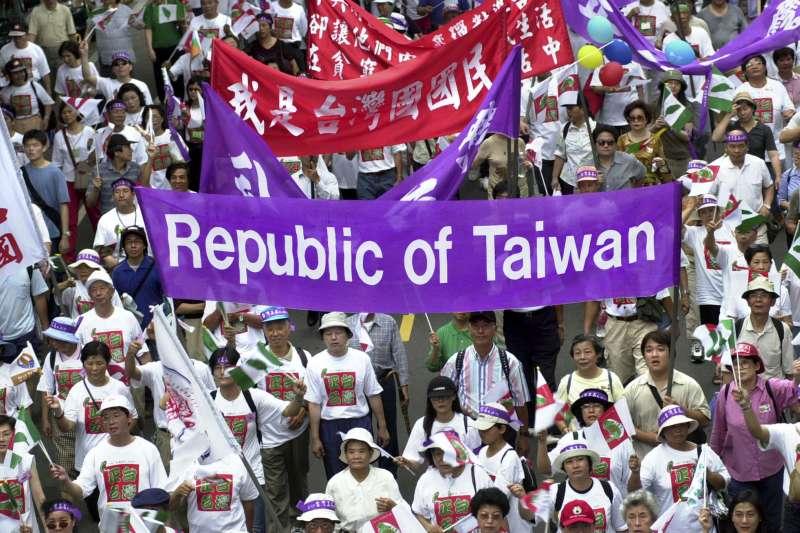 「按臺獨邏輯,大陸應維持專制才好,大陸如民主化,臺獨會搞不下去。」作者認為,臺獨人應該思考接下來該如何前進。(資料照,AP)